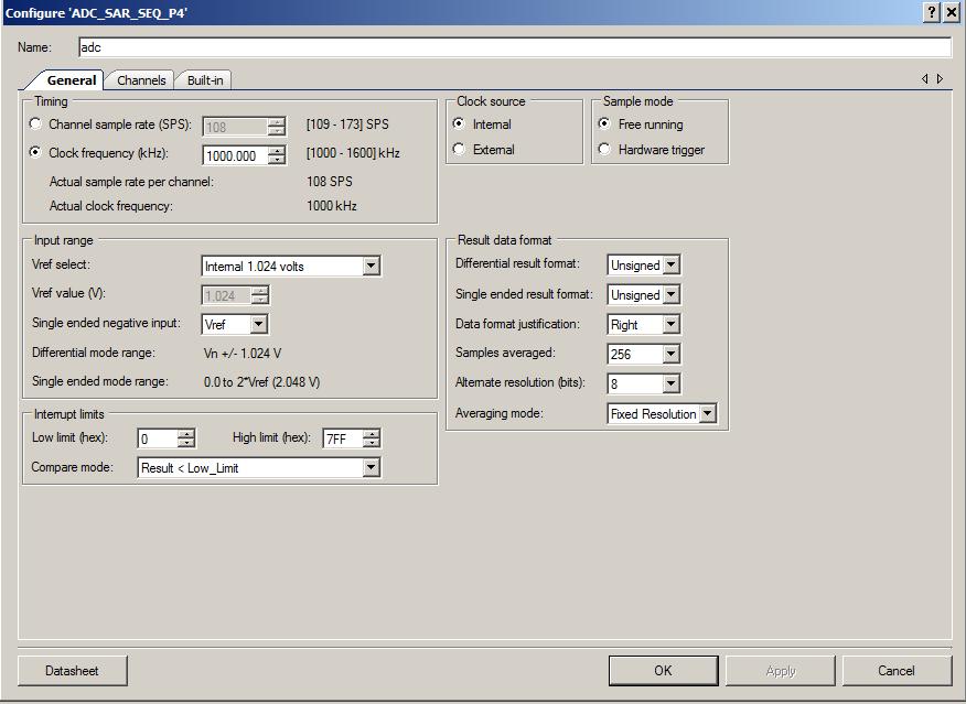 ADC Configuration 1