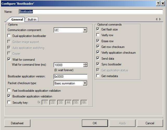 BootloaderConfiguration