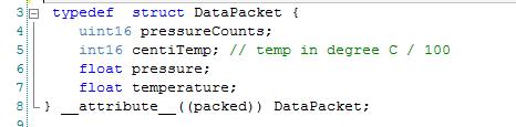 DataPacketFormat