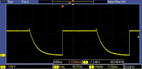 Motor Driver Oscilloscope Measurement
