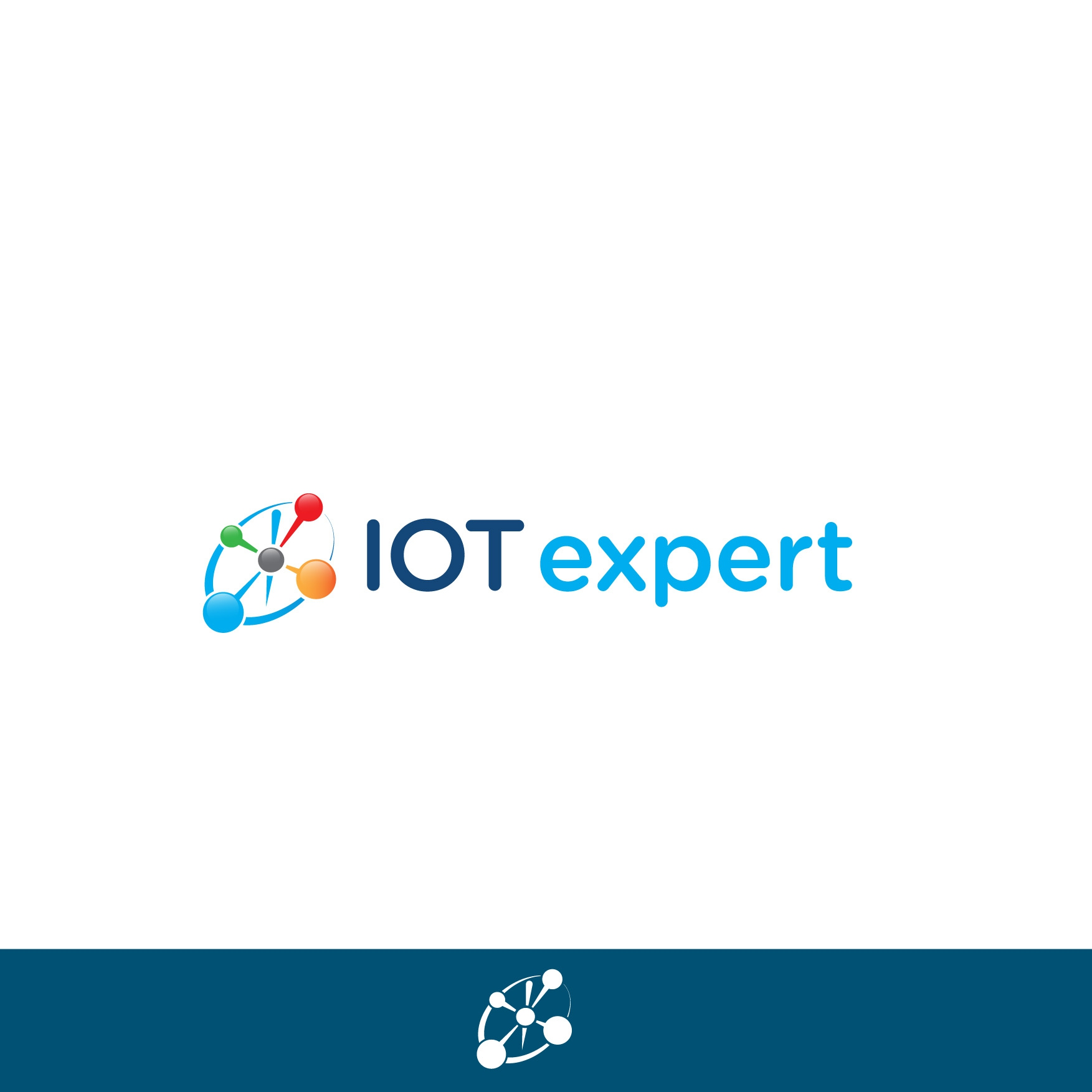 A new logo design contest for iot expert part 1 iot expert Logo design competitions