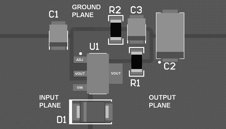 LM117 Datasheet Layout