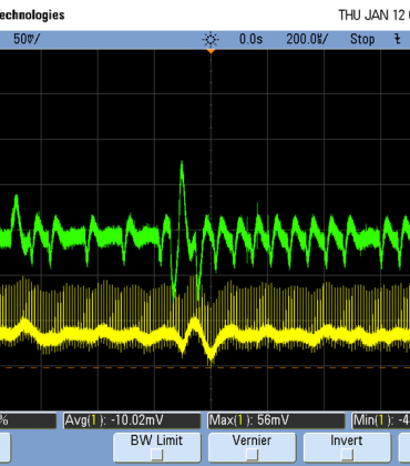 PSoC5 Digital VDDD noise couples to the analog domain