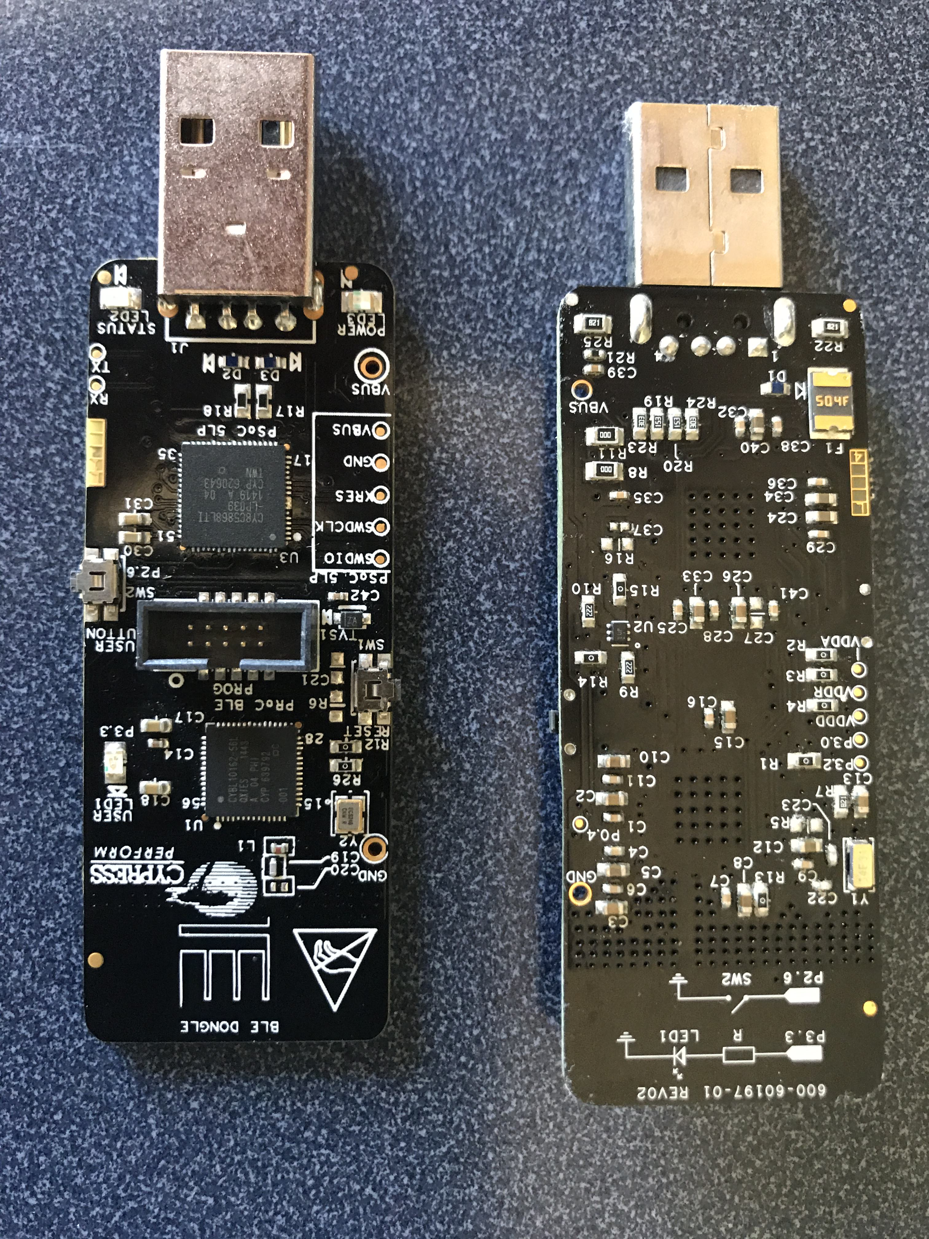 PSoC4 BLE Central - Using the CySmart Dongle - IoT Expert