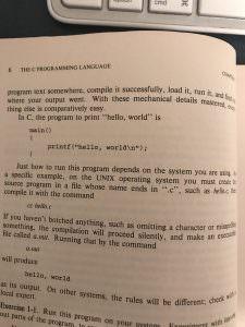 Kernighan & Ritchie