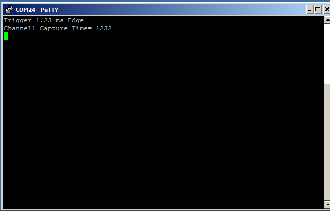 PSoC 5 Serial Port Output