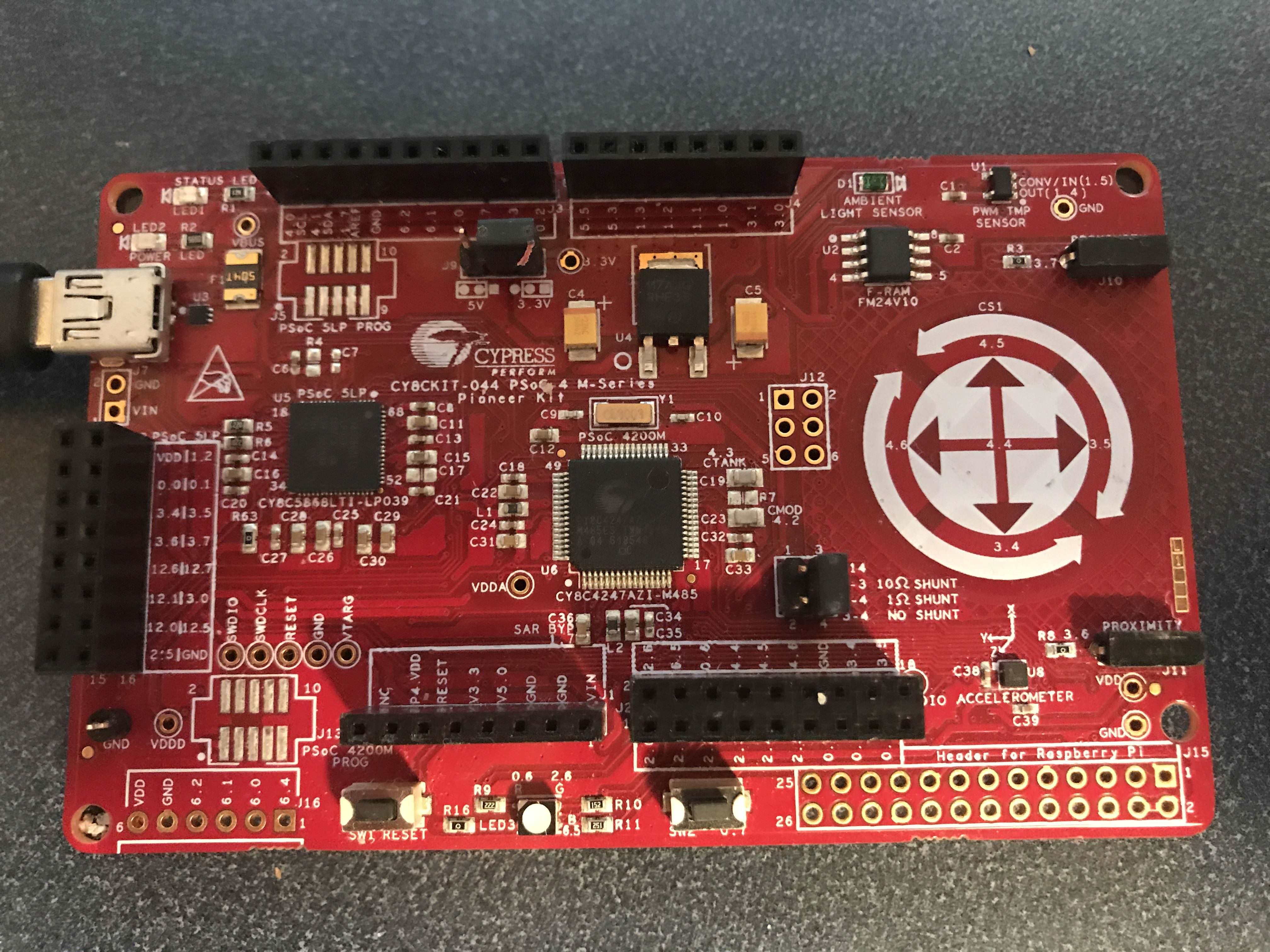 CY8CKIT-044 Development Kit Front