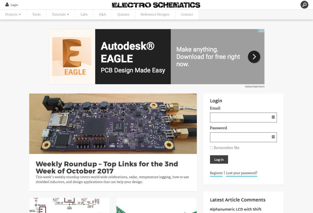 EE Times Electroschematics.com
