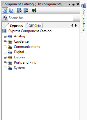 PSoC 6 Component Catalog