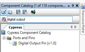 PSoC Creator Component Catalog