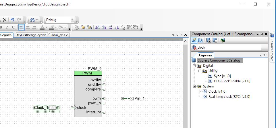PSoC 6 Schematic