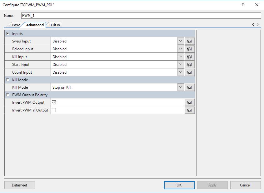 PSoC 6 Update TCPWM Advanced