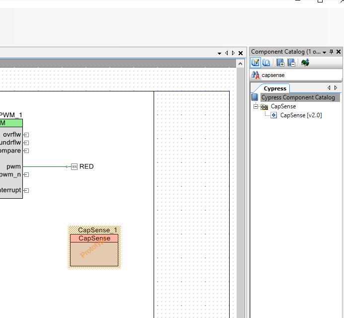 PSoC 6 Add CapSense Component
