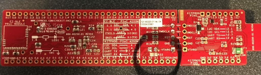 CY8CKIT-042 modification for PSoC 4200M Low Power Measurement