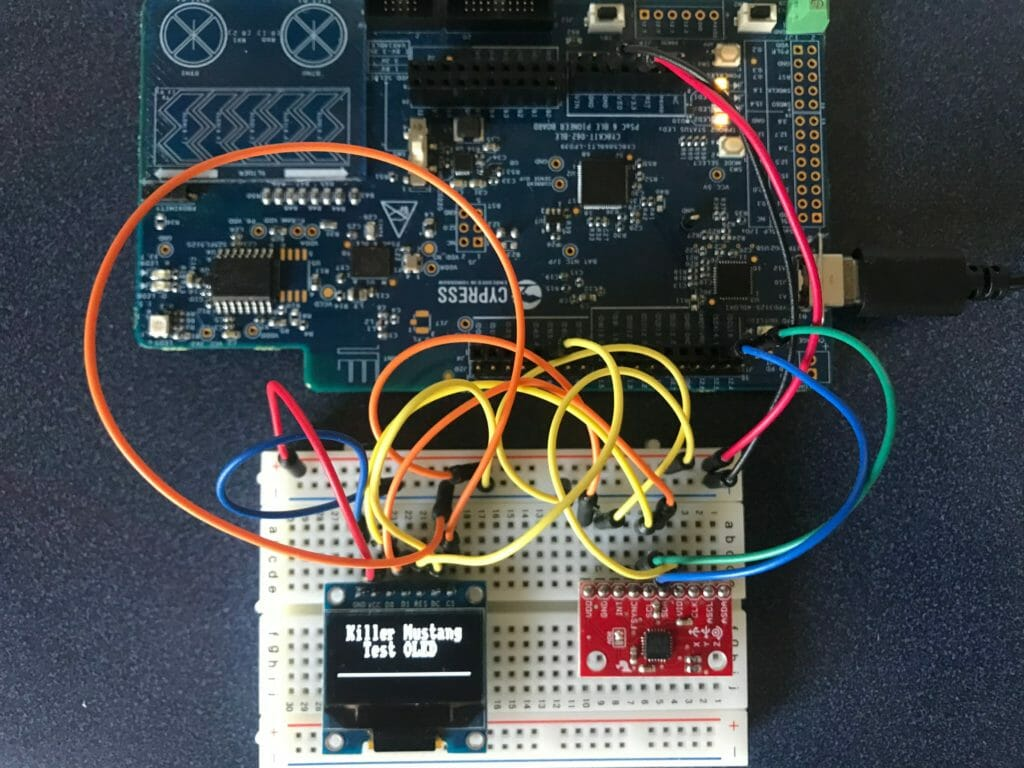 PSoC 6, FreeRTOS & SSD1306 OLED Display - IoT Expert