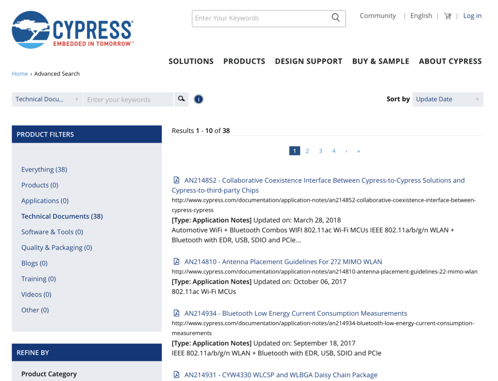 Mouser PSoC 6-WiFi-BT L1 : Developer Resources - IoT Expert