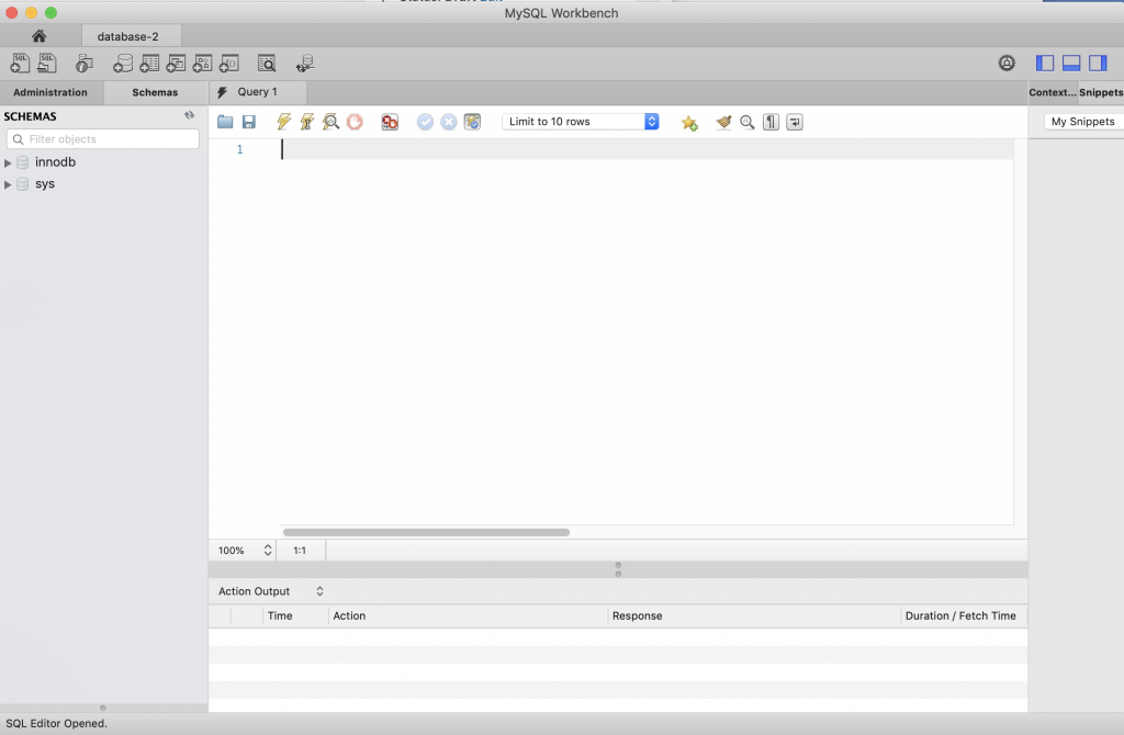 The Creek 2 0: AWS Relational Database Server (RDS) – MySQL